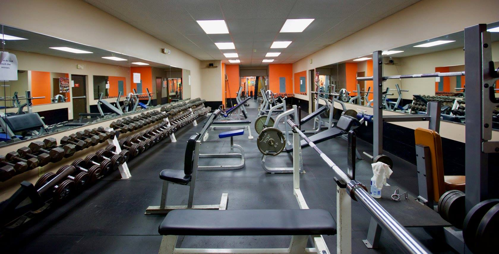 FREE WEIGHTS ROOM